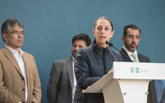 Sheinbaum pide a CDHDF intervención en caso de menor abusada por policías - Foto de Notimex