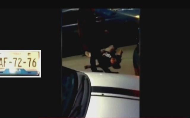 #Video Golpean y arrollan a conductor en Puebla - conductor golpeado y arrollado en puebla