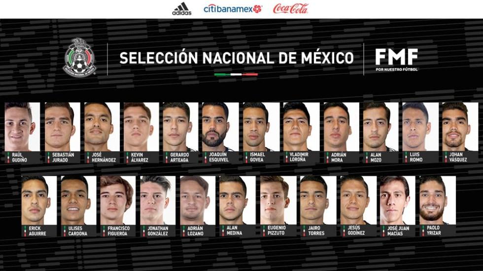 Convocatoria de Martino para la Nations League de Concacaf - convocatoria tri