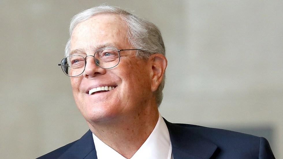 Murió el multimillonario estadounidense David Koch - Multimillonario David Koch. Foto de executiveb.io