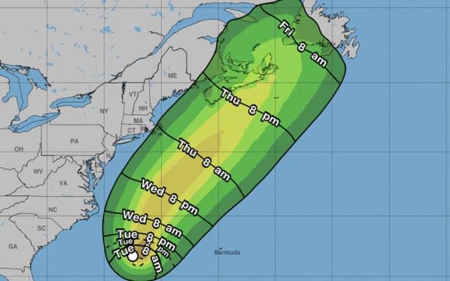 Se forma sexta depresión tropical en el Atlántico, al sureste de EE.UU. - Depresión Tropical Seis Estados Unidos Atlántico