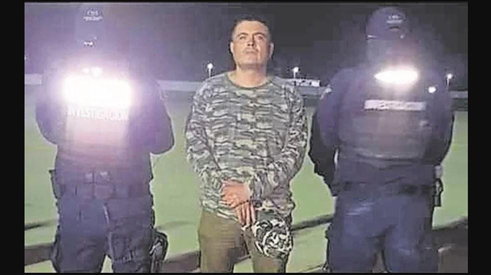 Formal prisión a 'El Carrete' por delincuencia organizada - Detención de El Carrete. Foto de El Universal