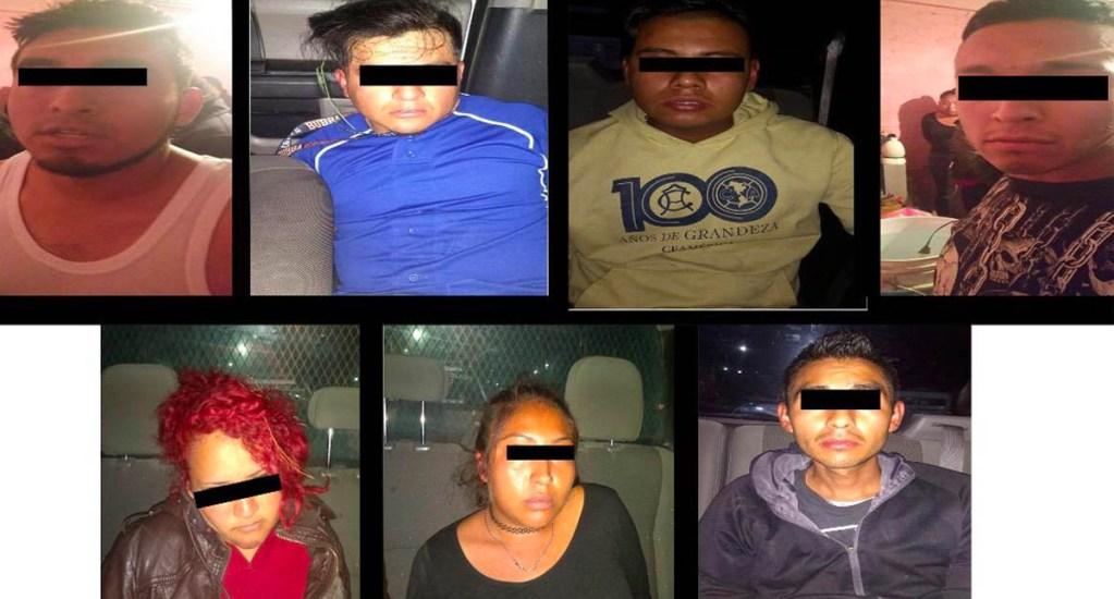 Cae banda dedicada al robo de vehículos con violencia en el Edomex - banda roba autos