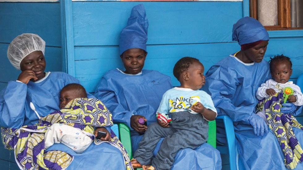 Al menos mil 380 niños huérfanos por ébola en El Congo - Foto de EFE