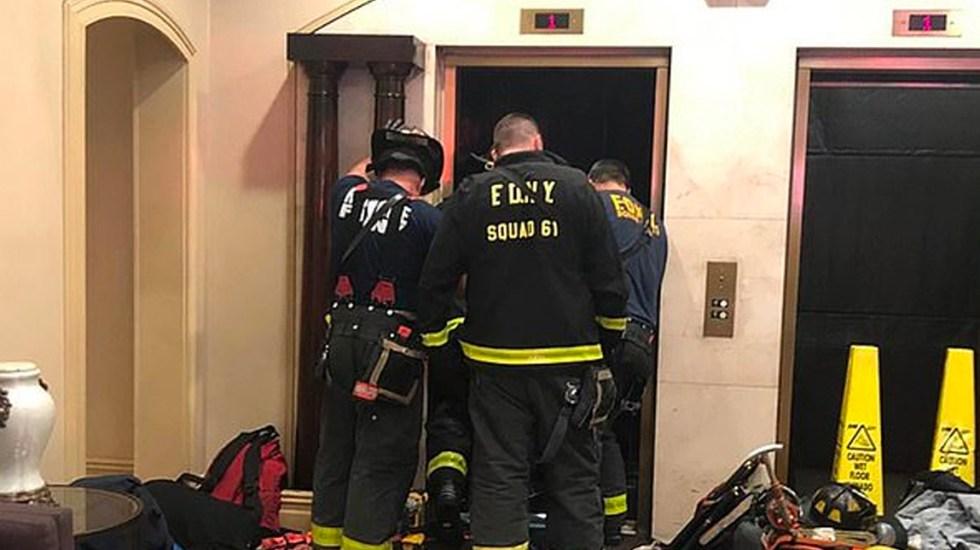 #Video Hombre muere aplastado por elevador en edificio de lujo en NY - elevador mata