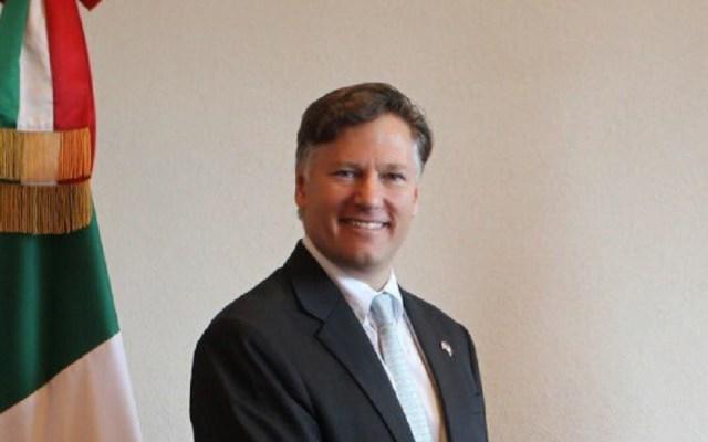 Embajador de EE.UU. impulsará cooperación en migración y seguridad - Embajador de EE.UU. en México. Foto de @USEmbassyMEX