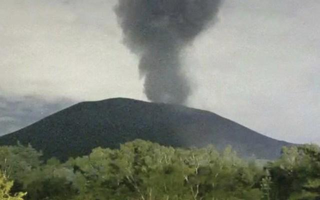#Video Monte Asama hace erupción en Japón - Foto de internet