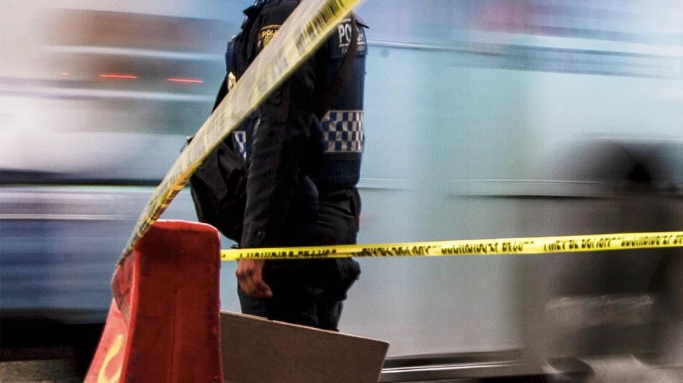 Jornada violenta deja cinco muertos en la Ciudad de México - Escena del crimen policía Ciudad de México asesinadas