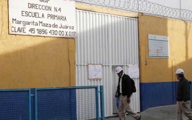 El lunes podrían iniciar clases escuelas cercanas a toma clandestina en Iztacalco - Foto de Notimex
