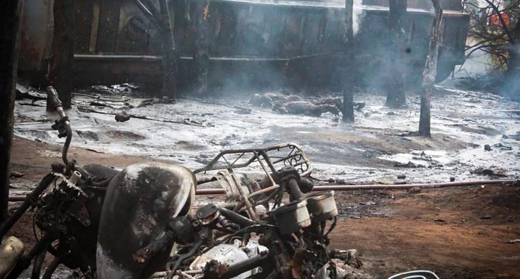 Aumenta a 85 cifra de muertos tras incendio de camión cisterna en Tanzania - Foto de EFE
