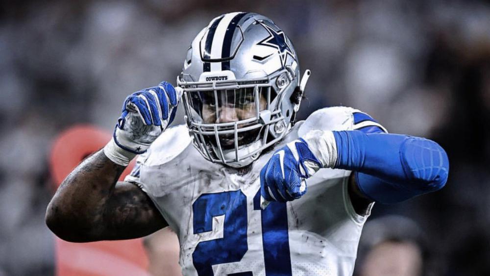 Elliott no jugará sin contrato, pero Jones asegura que estará con Cowboys - Foto de @dallascowboys