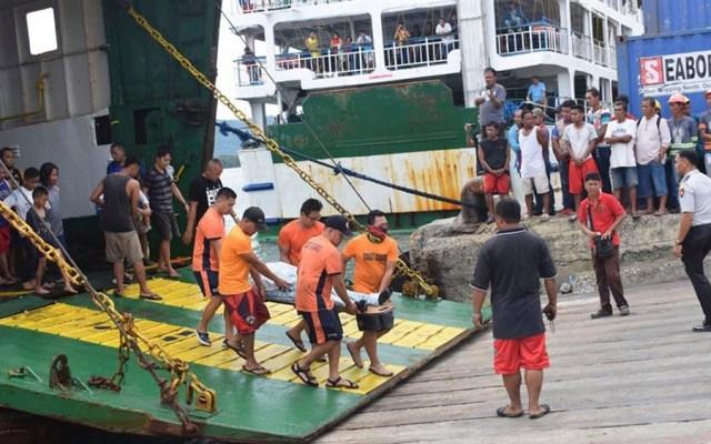 Incendio en ferry deja tres muertos y 69 desaparecidos en Filipinas - ferry filipinas