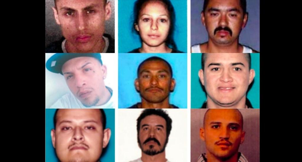 FBI busca en México a 12 sospechosos de crímenes violentos - Fugitivos buscados por el FBI en México. Foto de fbi.gov