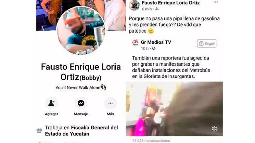 Dan de baja a funcionario de Yucatán por mensaje de odio contra mujeres - funcionario yucatan odio mujeres