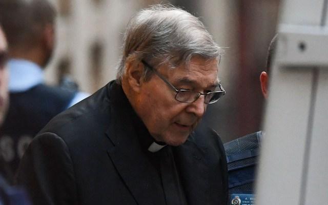 Ratifican sentencia por pederastia al cardenal George Pell - George Pell, cardenal australiano condenado a seis años por abusar de dos menores hace más de 20 años