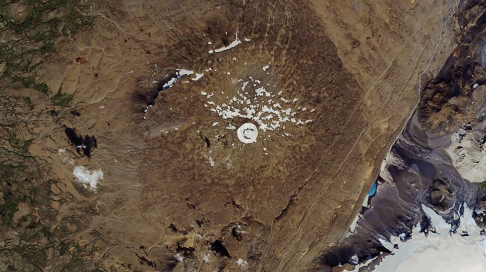 NASA capta desaparición de glaciar en Islandia - Foto de NASA