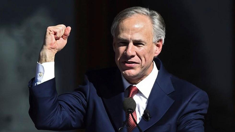 Greg Abbott, gobernador de Texas, da positivo a COVID-19 - gobernador de Texas Gregg Abbott