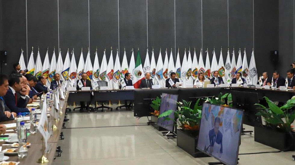 Gobernadores analizan con Gertz Manero seguridad y GN - gobernadores gertz manero guardia nacional