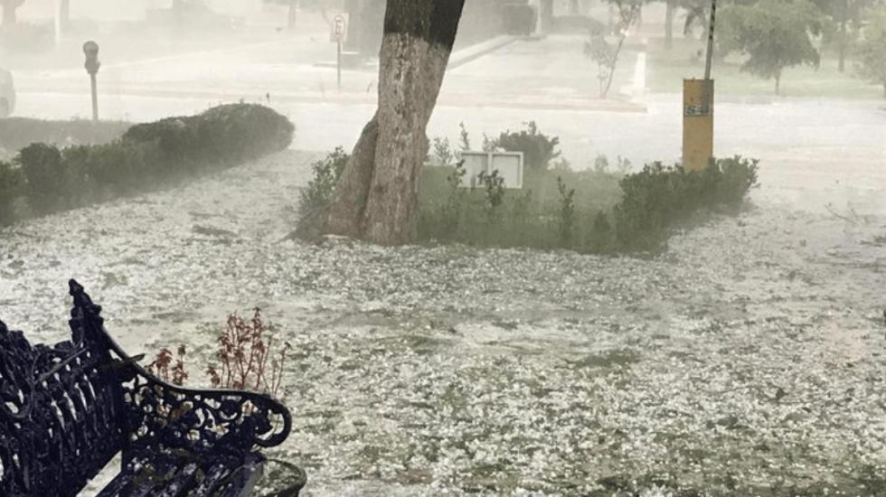 Granizada afecta Guadalajara y Zapopan - Foto de Protección Civil Zapopan