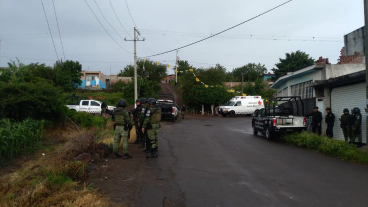 Guardia Nacional se enfrenta a grupo armado, hay cinco muertos