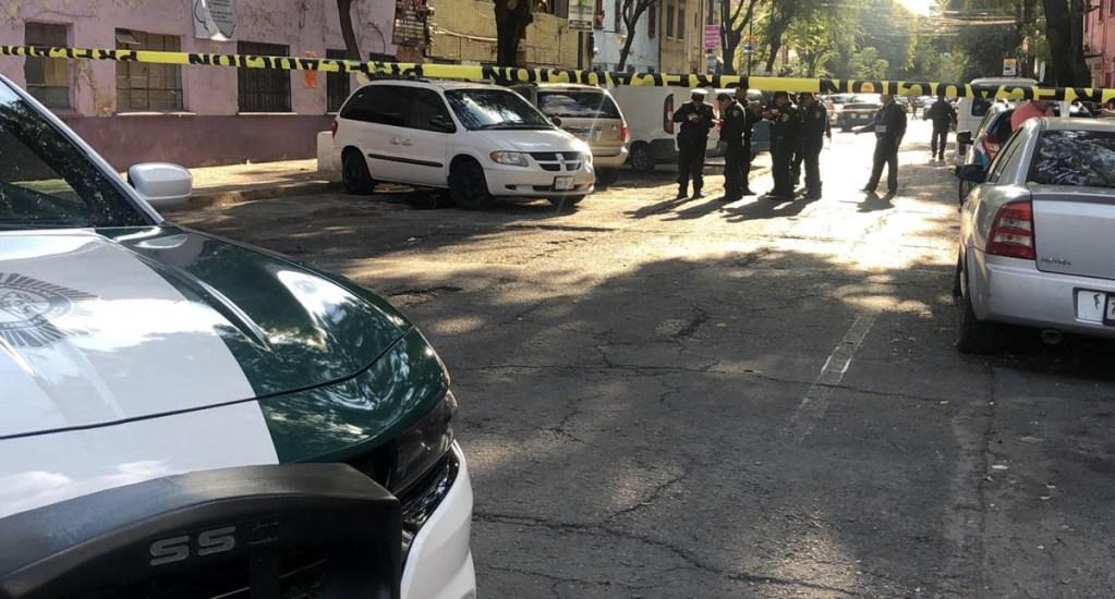 Balacera deja al menos un muerto en la colonia Guerrero - Guerrero colonia balacera disparos