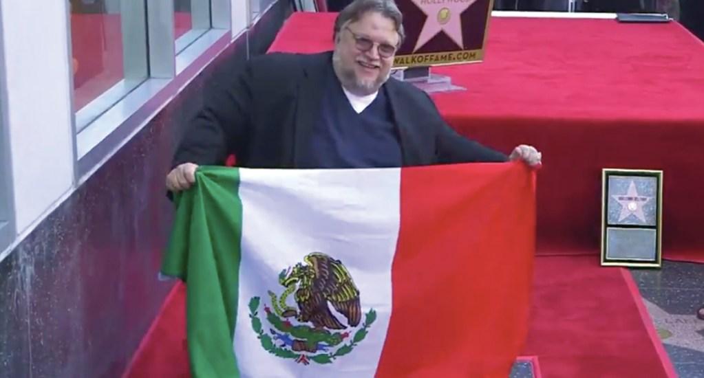 #Video Guillermo del Toro devela su estrella en el Paseo de la Fama de Hollywood - Captura de pantalla