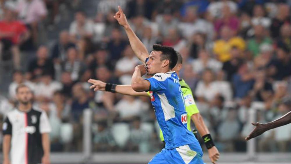 Gol del 'Chucky' Lozano en su debut con el Napoli - Foto de SSC Napoli