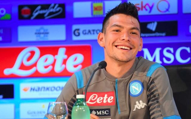 Napoli presenta oficialmente a Hirving Lozano - Hirving Lozano Napoli