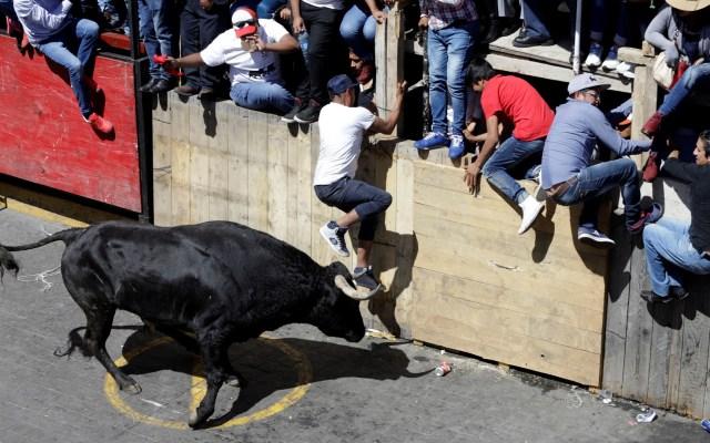 Tauromaquia Mexicana pide 'modernizar pero no prohibir' corridas - Huamantlada 2019 en Tlaxcala. Foto de EFE