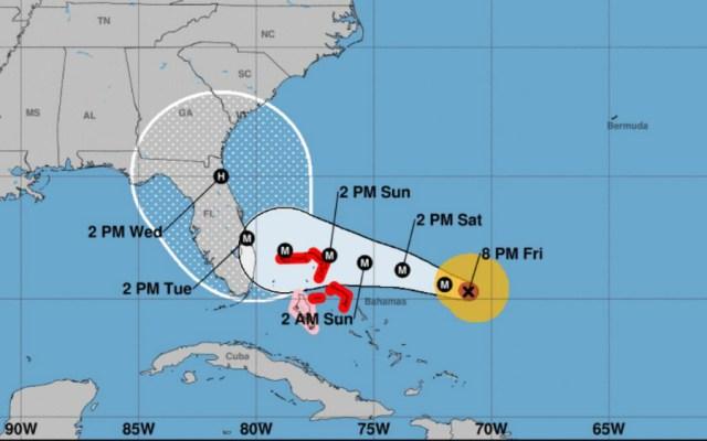 Huracán Dorian sube a categoría 4 en su camino hacia Florida - Foto de NHC