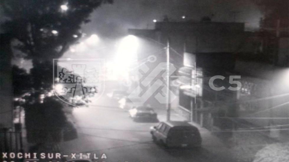 Se incendia vivienda en alcaldía Venustiano Carranza - incendio vivienda venustiano carranza