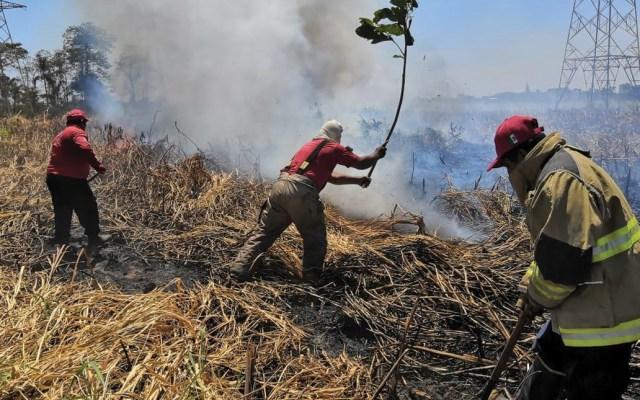 Mantienen alerta en Tabasco por incendios - Foto de Protección Civil Tabasco