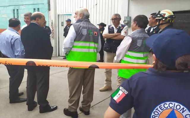 Cierran hasta nuevo aviso calle en Iztacalco por toma clandestina - Inmueble de la calle Añil donde hallaron toma clandestina. Foto de Alcaldía Iztacalco
