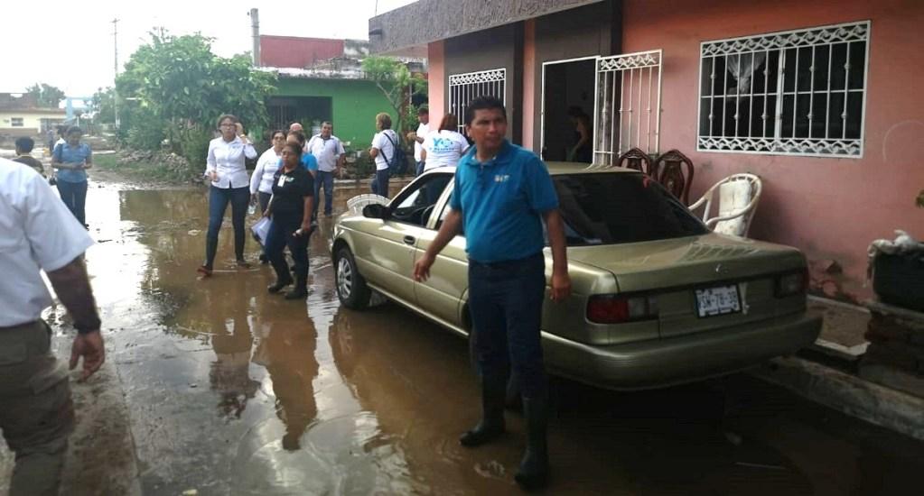 Declaran emergencia en municipios de Sinaloa por lluvias - Inundaciones en Sinaloa. Foto de @CNPC_MX