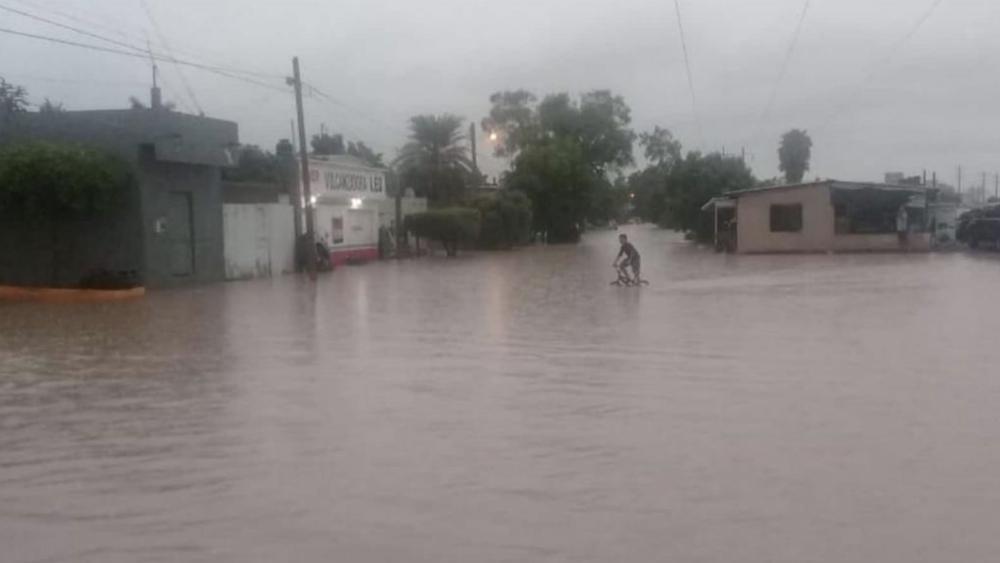 'Ivo' provoca fuertes lluvias e inundaciones en Sinaloa. Noticias en tiempo real