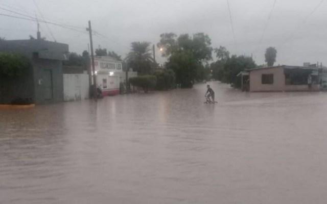 'Ivo' provoca fuertes lluvias e inundaciones en Sinaloa - Foto de Luz Noticias