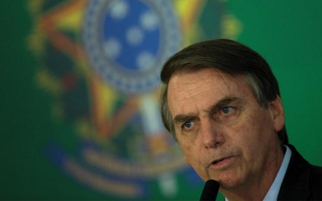 Bolsonaro y Merkel conversan sobre la soberanía brasileña en Amazonia - Foto de EFE