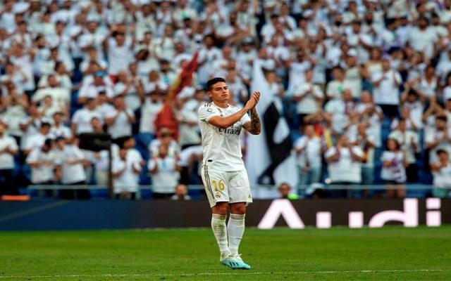 James Rodríguez causa baja con el Madrid por lesión muscular - James Rodríguez baja Real Madrid lesión