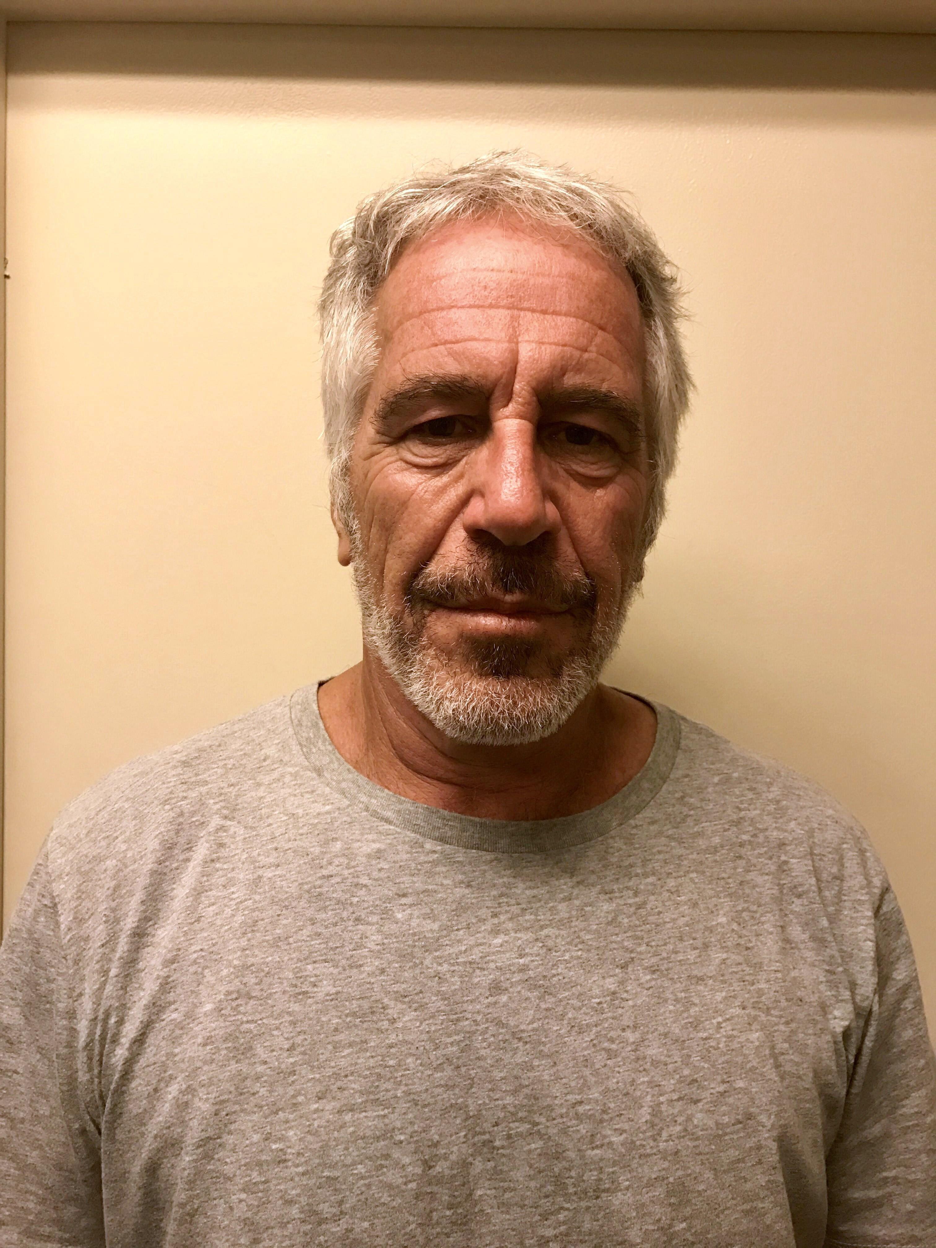 Jeffrey Epstein el 25 de julio desde la cárcel. Foto de EFE/ EPA/ New York State Division of Criminal Justice