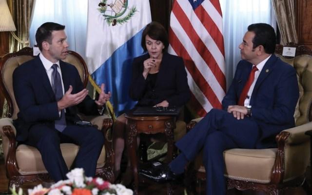 Jimmy Morales se reúne con secretario de Seguridad Nacional de EE.UU. - Foto de Twitter Gobierno de Guatemala