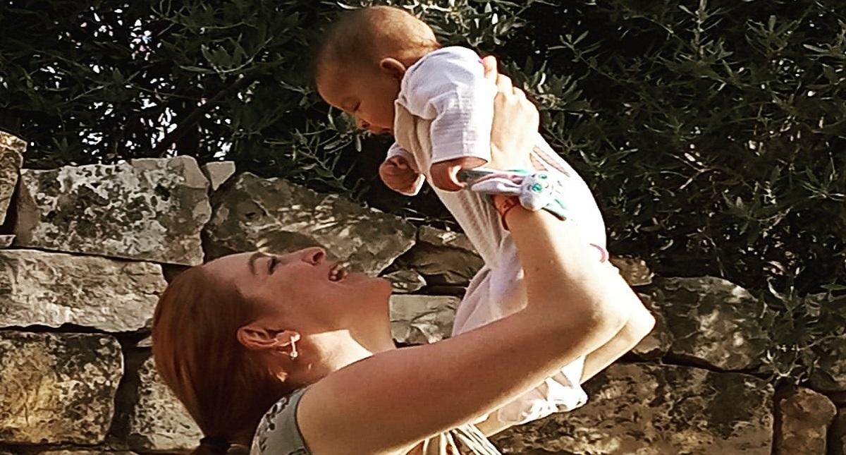 Josephine con Gloria. Foto de GoFundMe