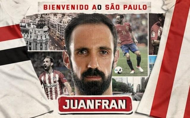 Sao Paulo anuncia contratación de Juanfran - Juanfran sao paulo