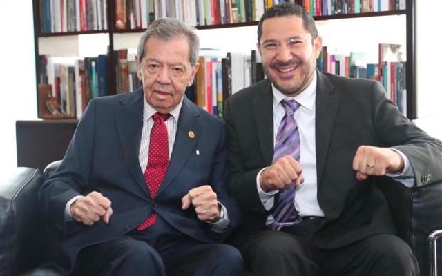Muñoz Ledo confía en que limen asperezas Batres y Monreal - Marti Batres