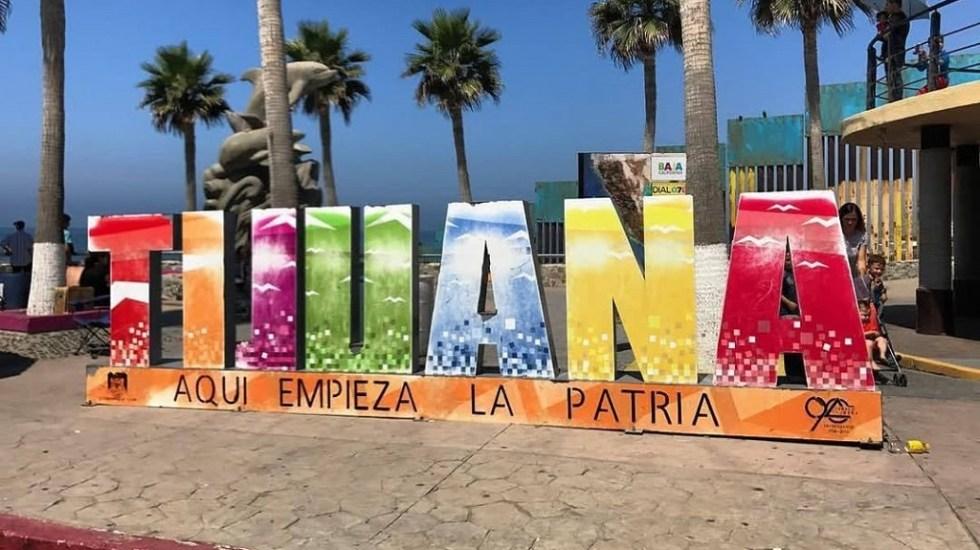 Apagón afecta a 22 por ciento de la población de Baja California - Letras turísticas de Tijuana. Foto de @saralight13