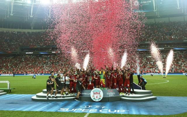 Liverpool campeón de la Supercopa de Europa - Liverpool Supercopa de Europa Chelsea