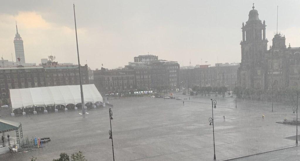 Chubascos y lluvias fuertes afectarán al Valle de México. Noticias en tiempo real