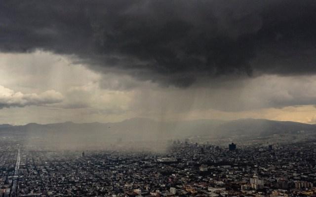 Prevén cielo nublado y chubascos en el Valle de México - Lluvia cielo nublado chubascos