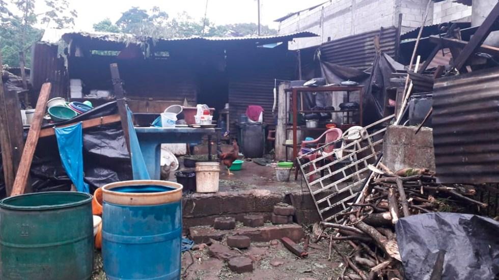 Lluvias dejan dos desaparecidos y más de 5 mil afectados en Guatemala - lluvias guatemala