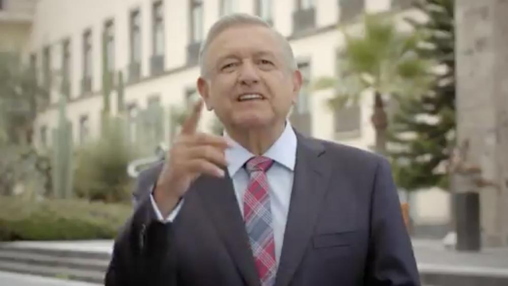 """""""Soy un hombre de palabra"""", los spots del Primer Informe de López Obrador - Foto de captura de pantalla"""