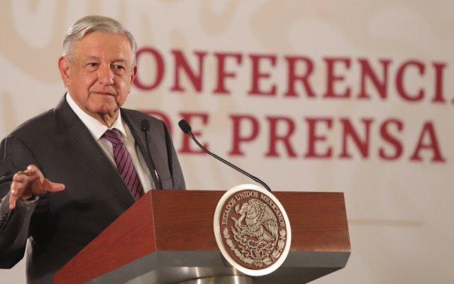 Bajar tasa de interés refleja estabilidad: AMLO - López Obrador. Foto de Notimex.